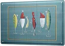 LEotiE SINCE 2004 Blechschild XXL Restaurant