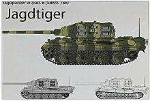 LEotiE SINCE 2004 Fliese Kachel Waffe Panzer Tiger