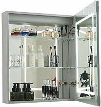 LERDBT Spiegelschränke fürs Bad Aluminium