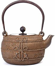 LERDBT Teekannen Retro japanische Teekanne