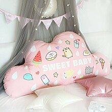 Lesekissen Für Kinder Bedside Kissen Wolke Bett