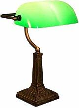 Leseleuchte Bankerlampe Duo grün