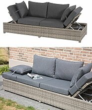 Lesli Living Loungebank Roma Cloud Polyrattan