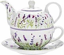Lesser & Pavey Lavender Tea-for-One Set [UK-Import]