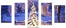 Lester Nell Weihnachten Wandmalereien