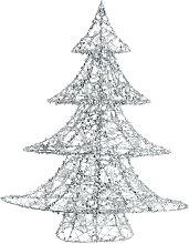 Leucht-Weihnachtsbaum aus Metall, H64