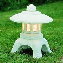 Leuchte Laterne aus Betonwerkstein Gartenbeleuchtung Wandleuchte Gartenleuchten