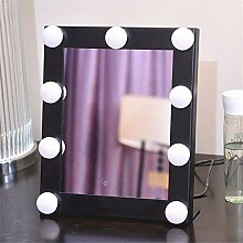 Leuchte Make-Up-Spiegel Einklappen Desktop Kommode