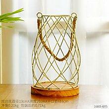 Leuchter Dekoration Kreative Tischdekoration Schlafzimmer Dekoration, Grün