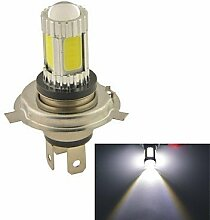 Leuchtmittel, carkingtm Fahrzeug Auto 25W H4COB LED Nebel Scheinwerfer Lampe bulb-white (12V 1Stück) (Farbe: Silber)