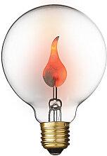 Leuchtmittel Flamme E27