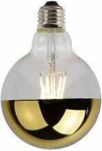 Leuchtmittel Glas Gold