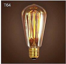 Leuchtmittelled Lampe,3Er Pack Retro Glühlampe