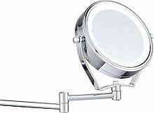 Leuchtspiegel, Badspiegel6-Zoll-Klappspiegel für