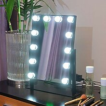 Leuchtspiegel, BadspiegelMakeup-Spiegel mit