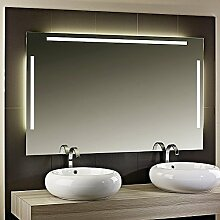 Leuchtspiegel Itanos - B 1200mm x H 700mm - warmweiss