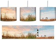 Leuchtturm inkl. Lampenfassung E27, Lampe mit