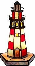 Leuchtturm Nachttischlampen tischlampe glas im