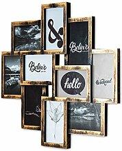 levandeo Bilderrahmen Collage 50x55cm Kupfer