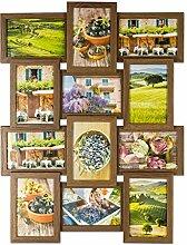 levandeo Bilderrahmen Collage B x H: 58x45cm 12