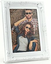 levandeo Bilderrahmen Weiß für 1 Foto 10x15 cm -