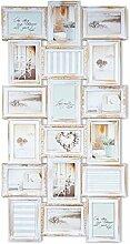 levandeo Fotocollage für 18 Fotos 10x15 weiß