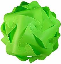 levandeo IQ Puzzle Lampe Retro Farbe: Grün -
