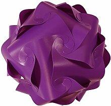 levandeo IQ Puzzle Lampe Retro Farbe: Violett -
