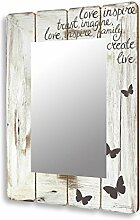 levandeo Spiegel 50x70cm Wandspiegel Flurspiegel