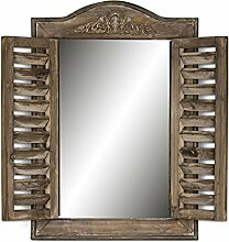 levandeo Wandspiegel B x H x T: 32x45x4cm Holz