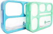 Lexa Miller Premium Bento Lunchbox I 2 stück I 3