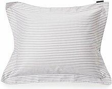 LEXINGTON Bettwäsche, Baumwolle, Weiß und Grau,