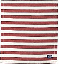 LEXINGTON Stars und Stripes Serviette, rot/weiß
