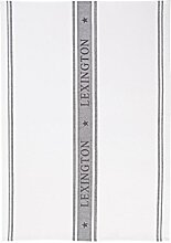 LEXINGTON Sterne Küche Handtuch, weiß/grau
