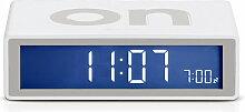Lexon - Flip2 LCD-Wecker, mastic