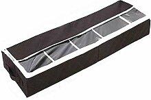 LEXPON 5 Grids Schuhe Aufbewahrungsbox unter Bett