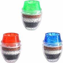 LEXPON Mini Wasserhahn Wasserfilter Aktivkohle