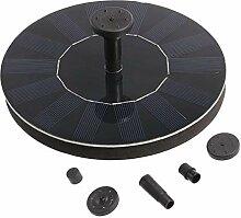 LEXPON Solarbatterie Brunnen und pumpen für