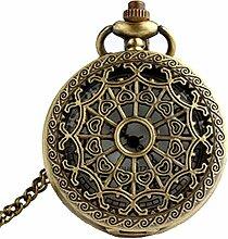 LEXPON Taschenuhr Steampunk Retro Antik Bronze