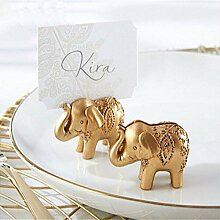 LEXPON Wunderschoene Gold Elephant Design