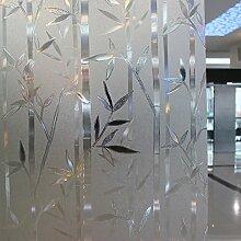 Leyden Dekorative Glas-Fensterfolie, 90 x 200 cm,