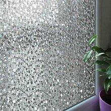 Leyden Dekorative Glasfensterfolie, 90 x 200 cm,
