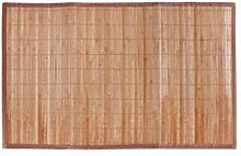 LEYENDAS Rutschfester Teppich aus Bambusholz,