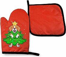 leyhjai Beagle Dog Weihnachtsbaum Kunst Nette