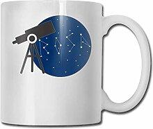 Leyhjai Porzellan Kaffeebecher Astronomie Keramik