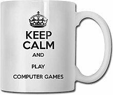 Leyhjai Porzellan Kaffeebecher Computerspiele
