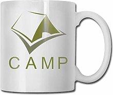 Leyhjai Porzellan Kaffeebecher Green Camp Keramik