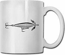 Leyhjai Porzellan Kaffeetasse Fliegenfischen