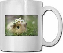Leyhjai Porzellan Kaffeetasse Hamster Blume