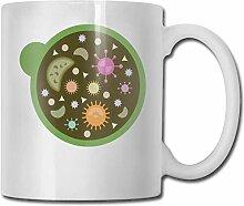 Leyhjai Porzellan Kaffeetasse Mikroorganismus